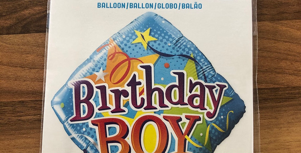 Birthday Boy Balloon