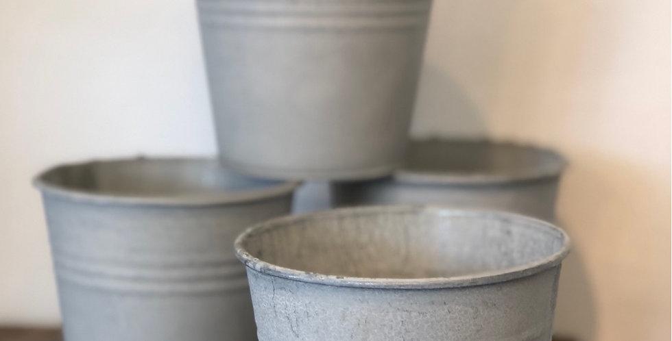Small Zinc Pot