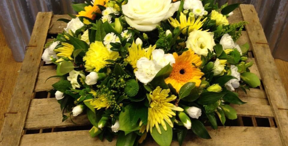 Yellow And Rose Posy