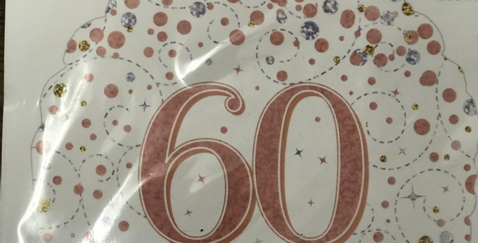 60th Birthday Balloon
