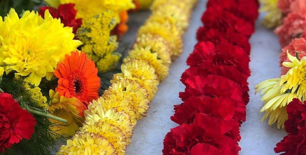 Bespoke Colourful Garlands
