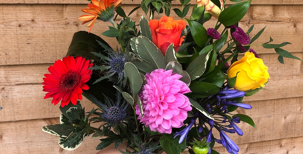 £15.00 Bunch Of Flowers (Vibrant Mix)