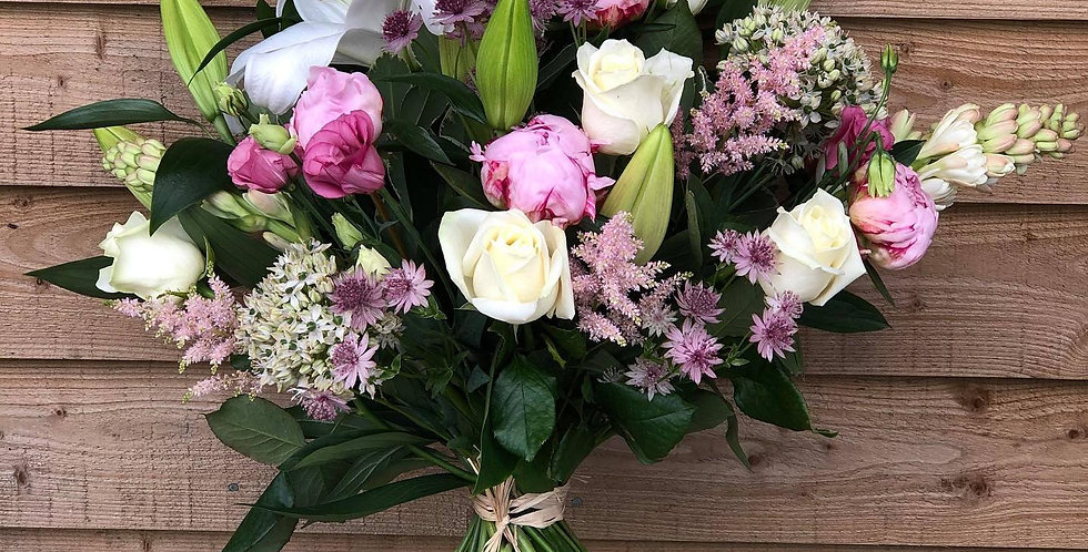 Peonies, Roses and Lilies