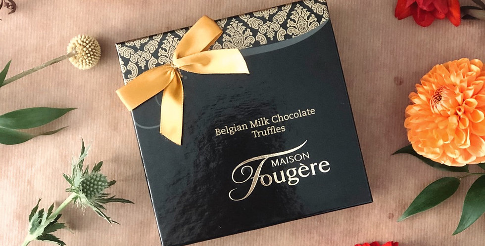 Belgian Milk Chocolate Truffles