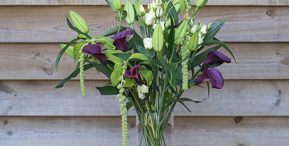 Platinum Vase of Flowers