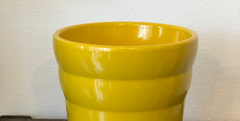 Yellow Ceramic Pot
