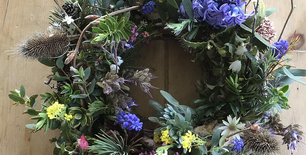 Garden Mix Spring Wreath