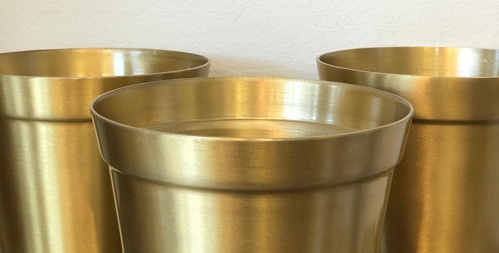 Gold Metal Pot