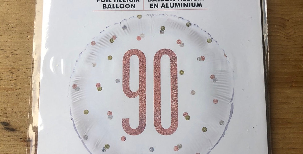 90th Birthday Balloon