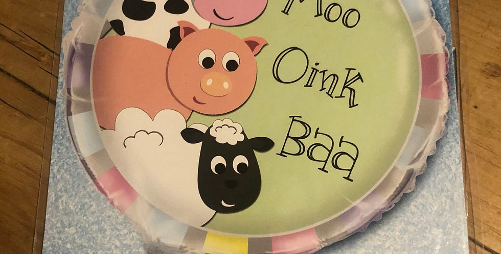 Moo, Oink, Baa