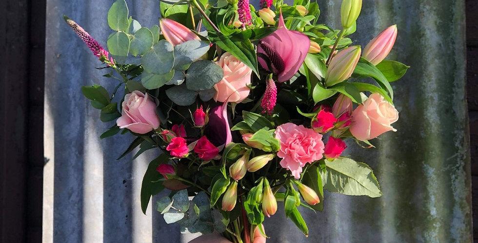 Pink Bouquet £45/£55/65