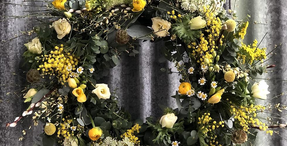 Large Spring Wreath