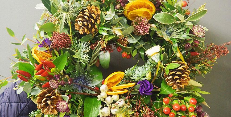 Winter Hedgerow Wreath