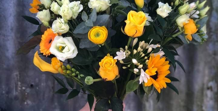 Yellow Bouquet £55/65/£75
