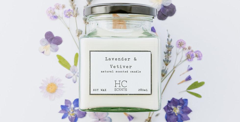 Lavender & Vetiver Candle