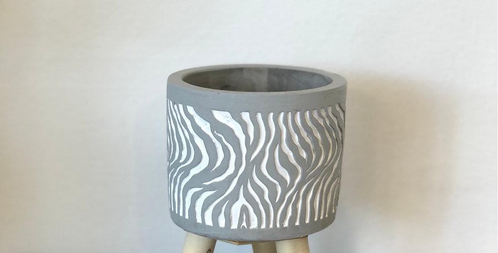 Medium Three Legged Pot