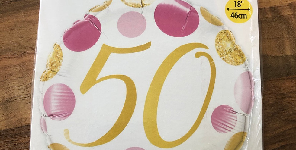 50th Balloon