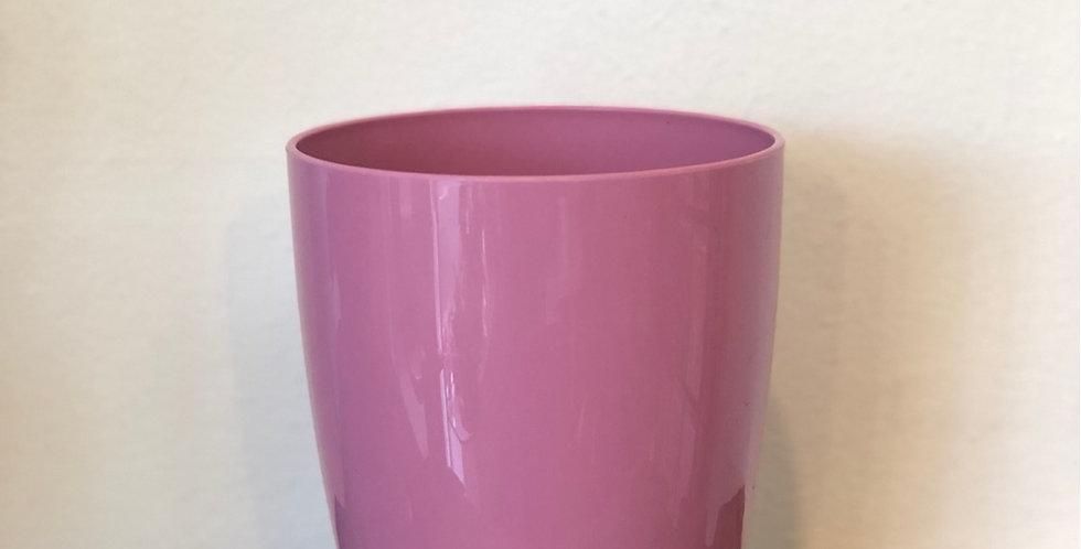 Pink Plastic Pot