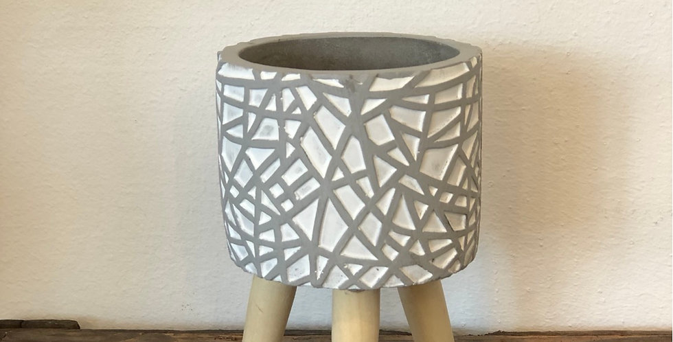 Medium Three Legged Pot