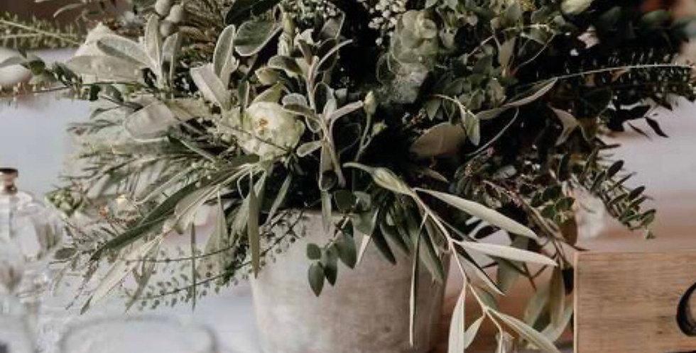 Silver Foliage Arrangement