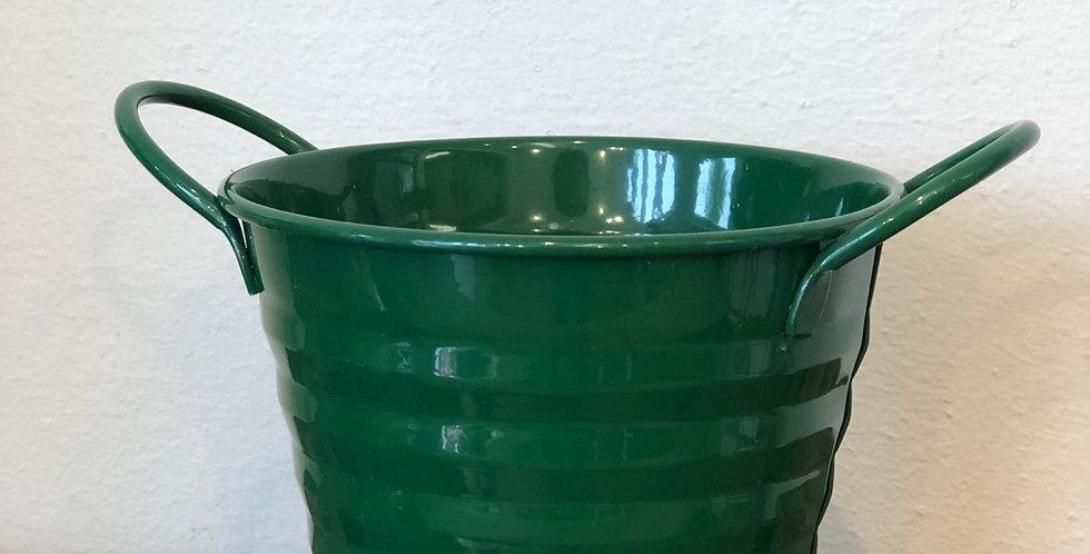 Green Zinc Pot