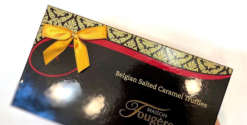 Belgian Salted Caramel Truffles