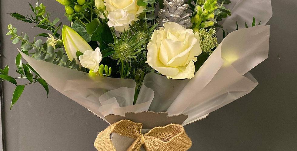 White Box Bouquet