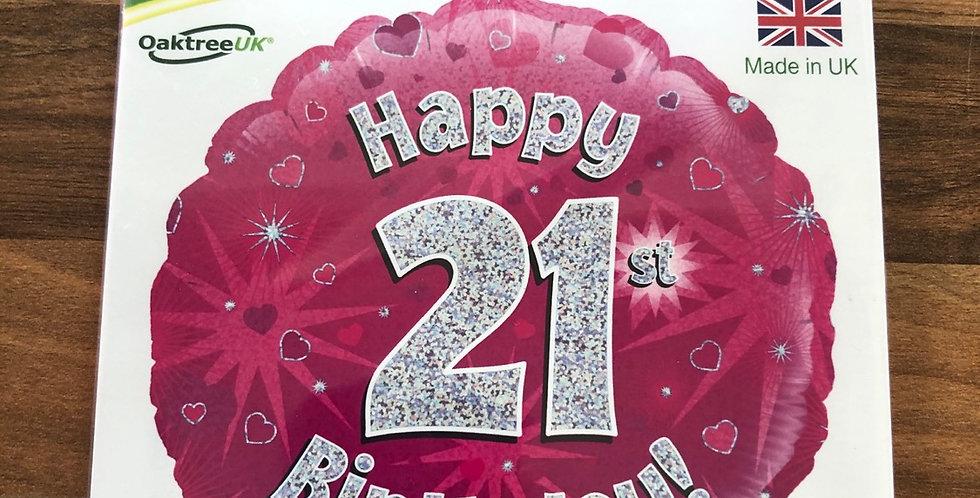 21st Birthday