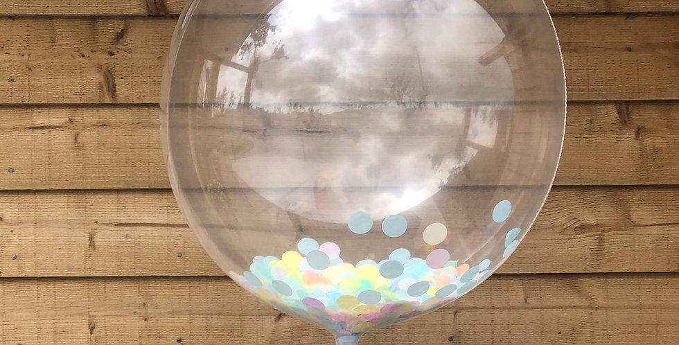 """20""""/51cm Confetti Balloon"""