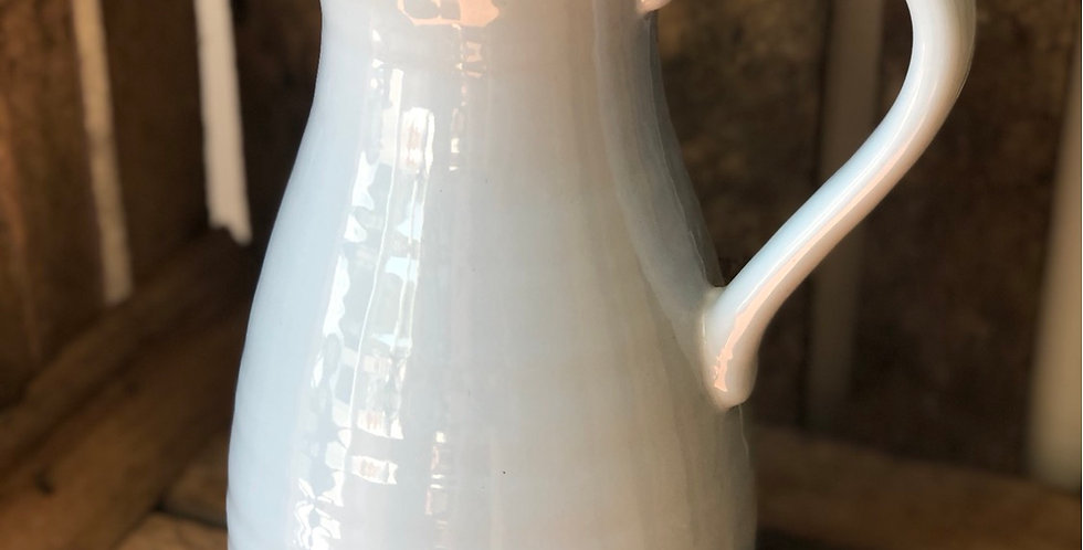Pale Blue/Grey Ceramic Jug