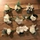 Thumbnail: Small White Silk Flower Buttonhole