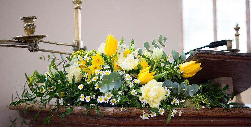 Yellow Church Arrangement