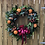 Thumbnail: Red Roses Christmas Wreath
