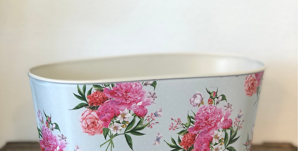 Floral Pattern Container