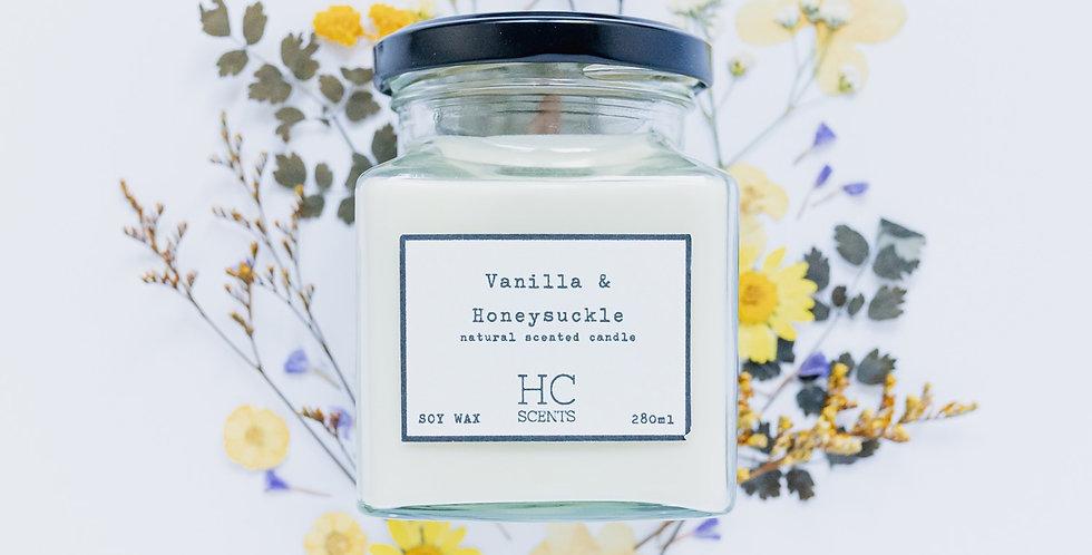 Vanilla & Honeysuckle Candle