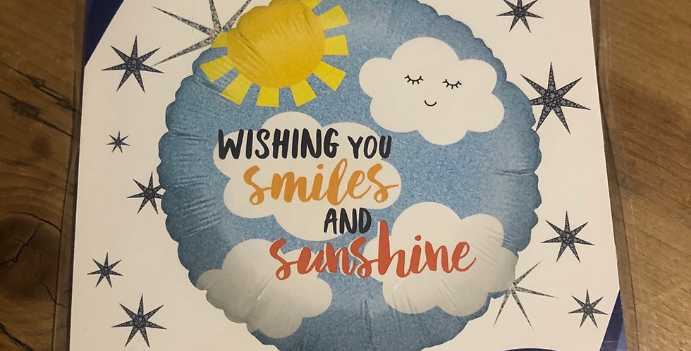 Wishing you smiles and sunshine