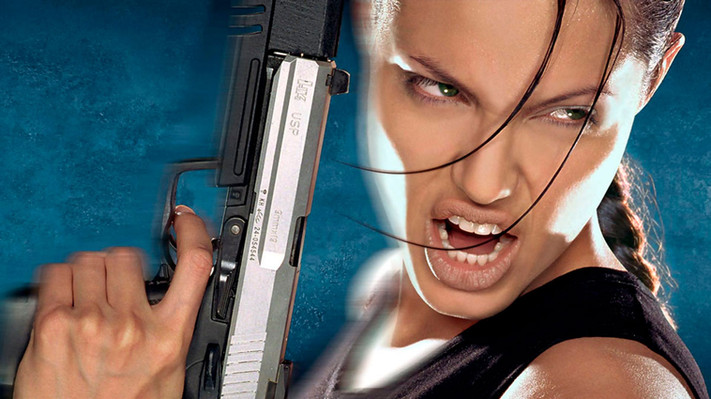 Angelina Jolie Tomb Raider 2001