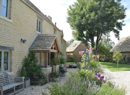 The owners of this new build cottage near Cirencester have created an absolutely beautiful home.