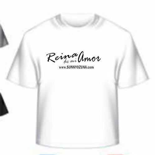 Riena De Mi Amor  ladies tshirt