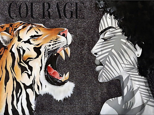 Courage 28 x 30