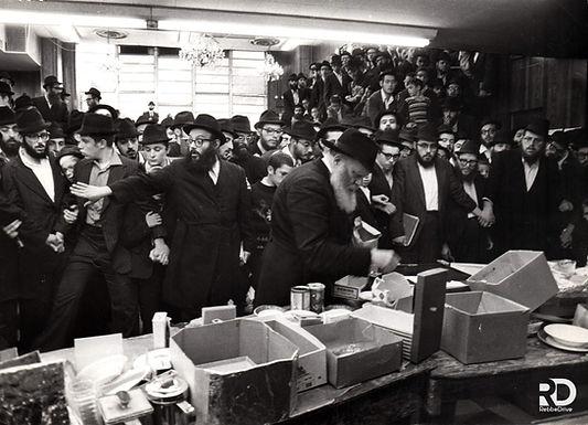 Erev Yom Kippur with the Rebbe