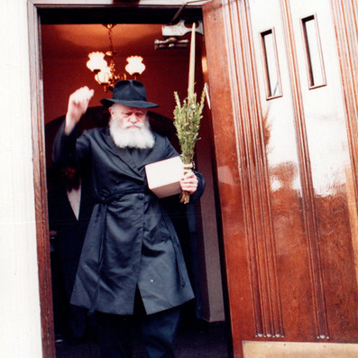 Gallery: Sukkos with the Rebbe - Part One