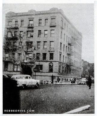 Rare Photo Of Rebbe On New York Avenue