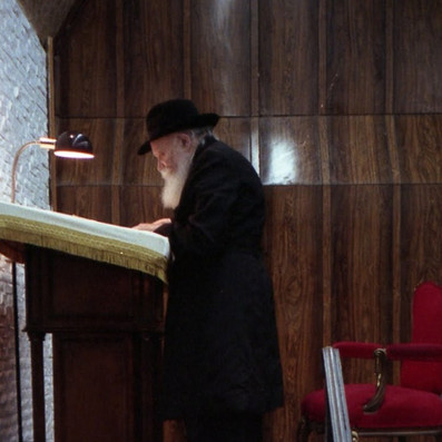 Taanis Esther with the Rebbe