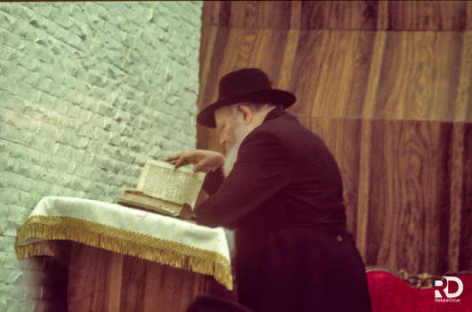 The Mincha afternoon services