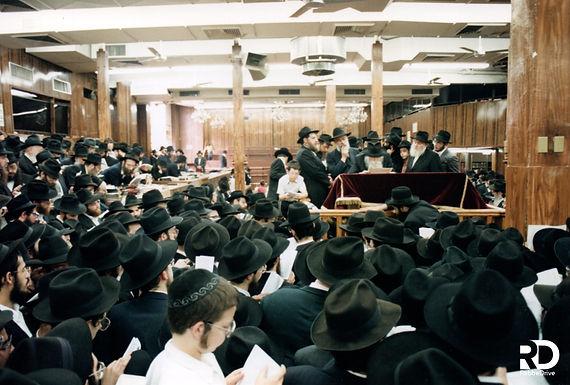 Tisha B'av 5751 with the Rebbe