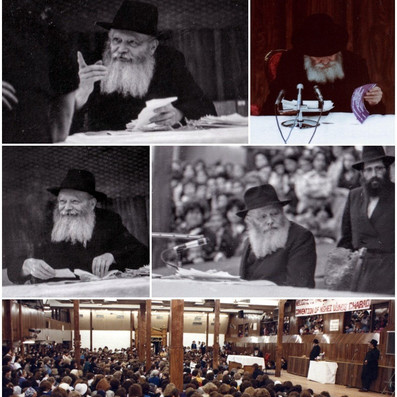 New Gallery Released of the Rebbe Speaking to Nshei U'Bnos Chabad