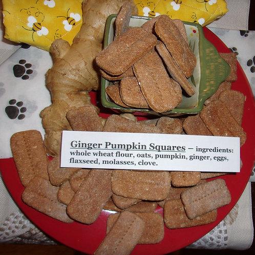 Ginger Pumpkin Squares.