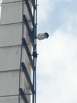 Instalación cámaras altura