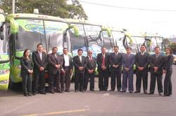 Socios y personal de Rioempres Tours